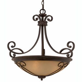 Triarch International Corsica 4 light English Bronze Pendant