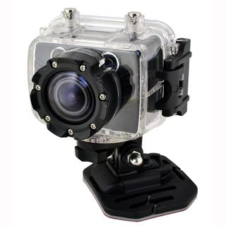 Coleman Bravo Full HD 1080p Action Sports Camera with Removable LCD
