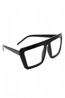 Black Super Nerd Glasses Clothing