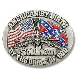 Buckle Shack American By Birth Belt Buckle Sports