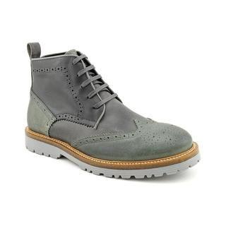 Steve Madden Mens Lamberr Leather Boots