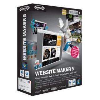 WEB SITE MAKER 5   Achat / Vente CREATION NUMERIQUE WEB SITE MAKER 5