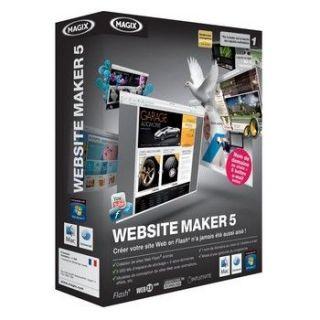 WEB SITE MAKER 5   Achat / Vente CREATION NUMERIQUE WEB SITE MAKER 5