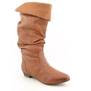 Steve Madden Womens Candence Distressed Leather Boots