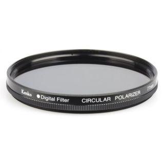 Kenko Filtre polarisant circulaire 52 mm   Ce filtre polarisant permet