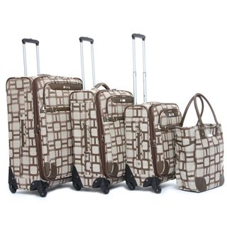 Nine West Super Sign 4 Piece Spinner Luggage Set