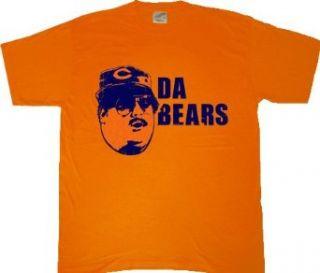 SNL Chicago Da Bears Orange T Shirt Tee Clothing