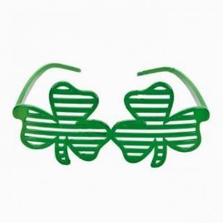Shamrock Shutter Shades St. Patricks Day Glasses Clothing