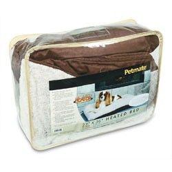 Petmate Heated Pillow Pet Bed