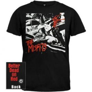 Misfits   Bullet T Shirt   X Large Clothing