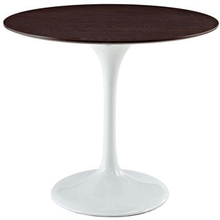 Eero Saarinen Style 36 inch Walnut Top Tulip Dining Table