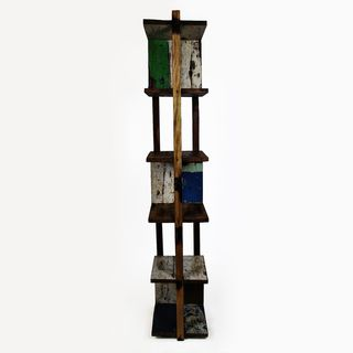 Ecologica Reclaimed Wood Moderna Bookcase