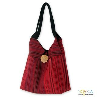 Cotton Karen Legacy Large Hobo Bag (Thailand)