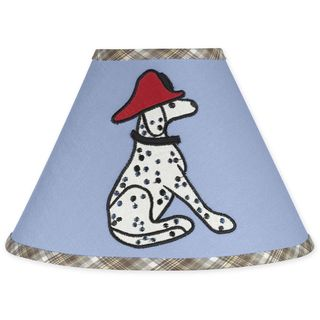 Sweet JoJo Designs Frankies Firetruck Lamp Shade