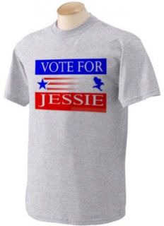 VOTE FOR JESSIE Adult Short Sleeve T Shirt In Various