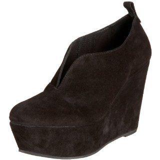 Kooba Womens Wendy Slip On Wedge,Black,6.5 M US Shoes