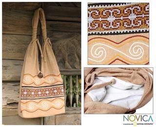 Cotton Lanna Greatness Medium Sling Bag (Thailand)