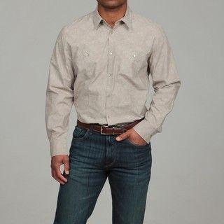 Calvin Klein Mens Poplin Shirt