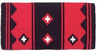 Mayatex Saddle Blanket   Apache   Black and Red Sports