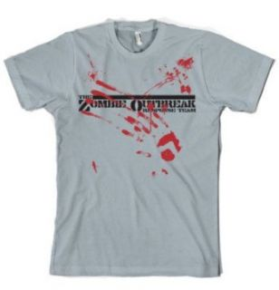 Zombie t shirt Dawn of the dead zombie outbreak Clothing