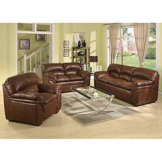 Joyce II Bonded Leather Sofa