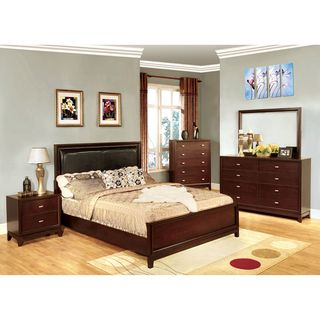 Enitial Lab Sydney Queen size Bed and Nighstand Set