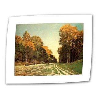 Claude Monet Lumber Wagon Flat Canvas