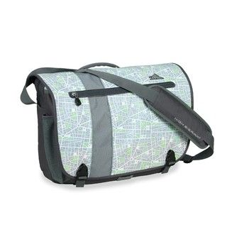 High Sierra City Map Rufus 17 inch Laptop Messenger Bag