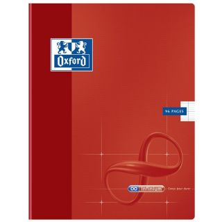 Cahier 96 Pages 17x22cm ROUGE   Achat / Vente CAHIER OXFORD Cahier 96