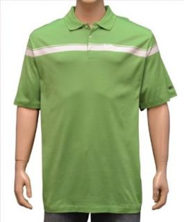 Nike Tiger Woods Golf Ribbon Big Swoosh Polo Shirt Green
