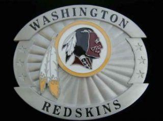Washington Redskins Large Size Buckle Belt Buckle
