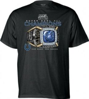 Indianapolis Colts Super Bowl XLI Champions Ring T Shirt