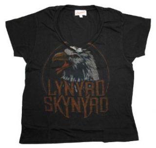 Lynyrd Skynyrd Eagle Logo Vintage Style Juniors Babydoll