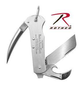 Silver Genuine 3 Piece British Multi Purpose Army Knife