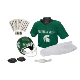 Franklin Sports Youth Michigan State Football Uniform Set