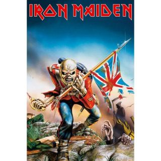 Affiche Iron Maiden Trooper (Maxi 61 x 91.5cm)   Achat / Vente TABLEAU