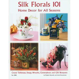 Design Originals Silk Florals 101 Craft Book
