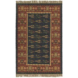 Handmade Elite Flat Weave Rug (8 x 10)