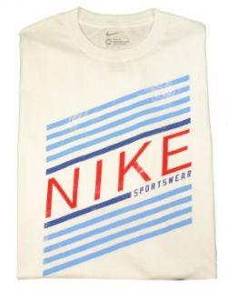 Nike Mens Short Sleeve Loose fit T Shirt White 3XL