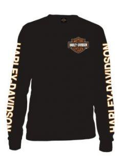 Harley Davidson® Mens Black Long Sleeve Bar & Shield T