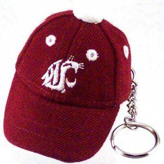 Washington State Cougars Crimson Baseball Cap Key Chain