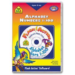 Alphabet & Numbers 1 100