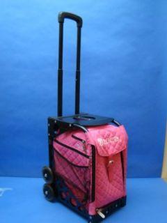 Zuca Bag Hot Pink  Black Frame Clothing