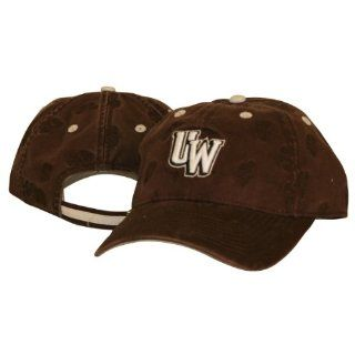 University of Wyoming Cowboys Brown Adjustable Hat Trimmed