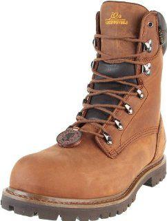 Chippewa Mens 8 Inch Heavy Duty Lug 55067 Boot Shoes