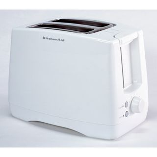 KitchenAid KTT340WH White Extra Wide Two slot Toaster