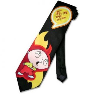 FAMILY GUY SILK Neck Tie Why Dont You Burn in Hell Mens