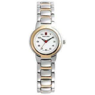 Swiss Army Valiant Womens Small Two tone Watch