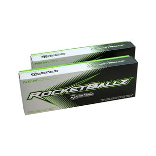 TaylorMade RocketBallz White Standard size Golf Balls (Case of 24