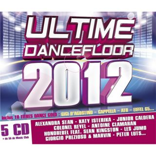 ULTIME DANCEFLOOR 2012   Compilation   Achat CD COMPILATION pas cher